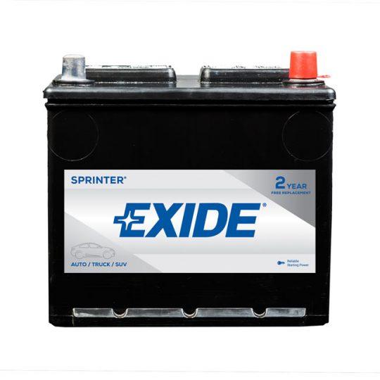 Batterie EXIDE sprinter groupe 121R