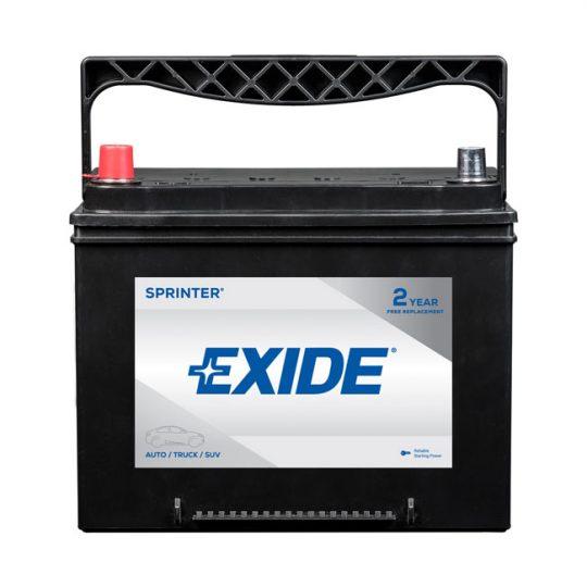 Batterie EXIDE sprinter groupe S24