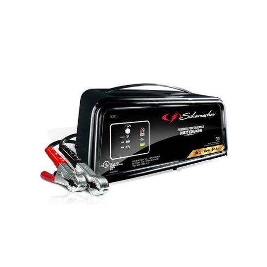 Chargeur de batterie / Démarreur de moteur entièrement automatique 50A 12V SCHUMACHER SC1361