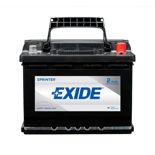 Batterie EXIDE sprinter groupe 47