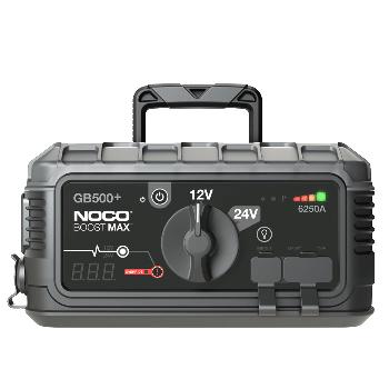 Démarreur de secours au lithium-ion UltraSafe de 6250 A 12V ET 24V GB500 NOCO