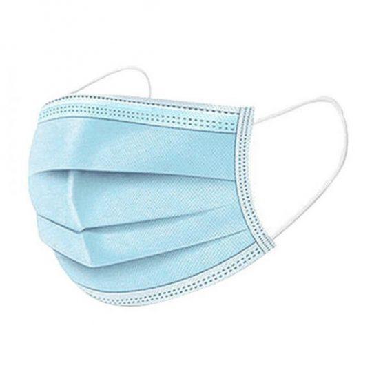 Masque chirurgical 3 plis (paquet de 50)