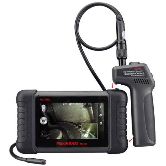 Tablette d'inspection MaxiVideo MV500 AUTEL à caméra double
